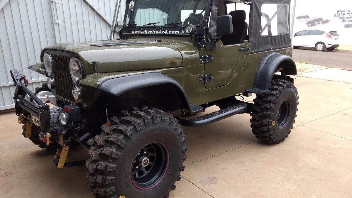 Willys Jeep 2018 >> Porta Fibra Jeep Willys Cj5 (56 Á 83) E Bernadão 02 Portas - R$ 1.920,00 em Mercado Livre