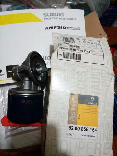 porta filtro aceite renault clio 2 kangoo megane 2 1.5 cc