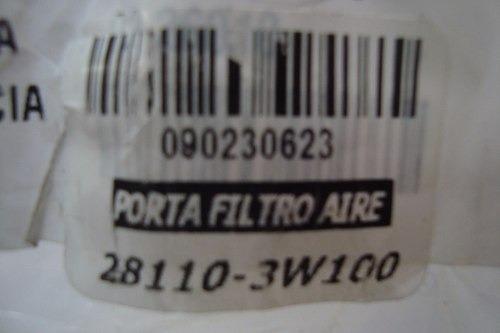 porta filtro de aire kia sportage 2011 - 2013