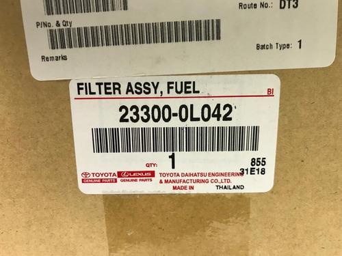 porta filtro gasoil s/retorno original hilux, sw4 g1