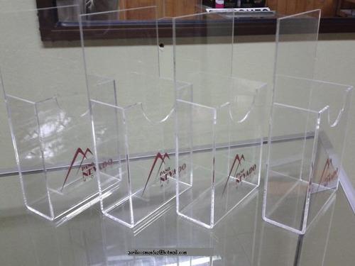 porta folletos en acrilicos tamaño carta