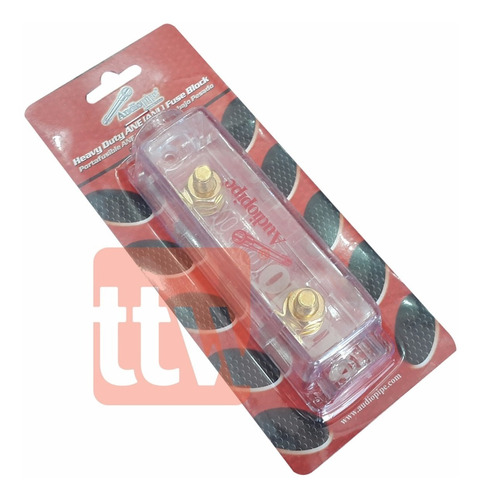 porta fusible audiopipe anl 1 posicion 0/4 gauge cq-1100 n-i