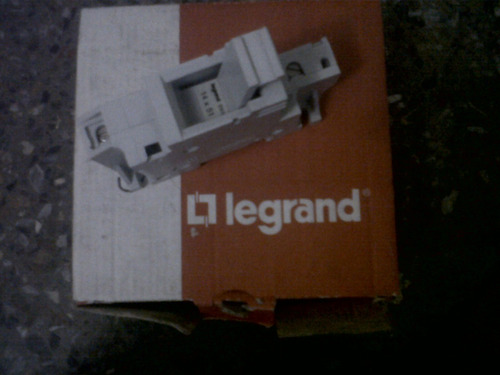 porta fusible zrb-50 legrand 215 01 fusible zr1 (nuevo)