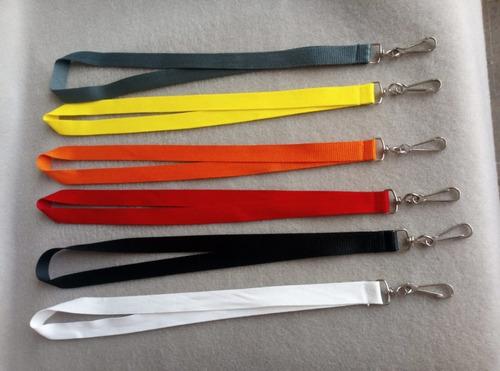 porta gafete lanyard porta credencial sin impresión colores