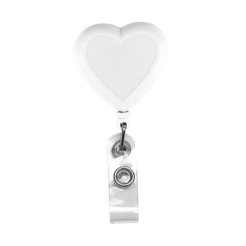 porta gafete promocional corazón