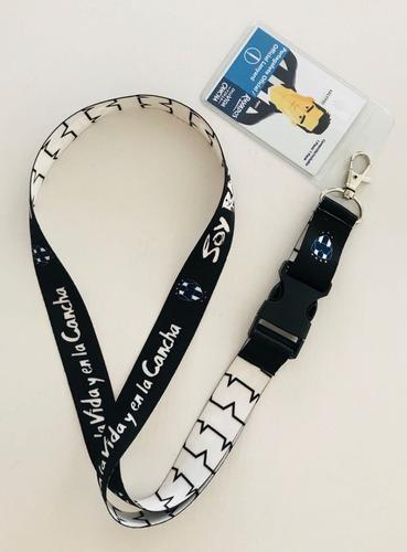 porta gafetes rayados de monterrey, producto oficial
