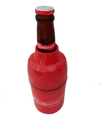 porta garrafa cerveja long neck /lata  budweiser