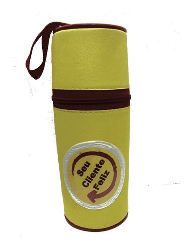 porta garrafa de agua térmico alça de ombro  personalizado