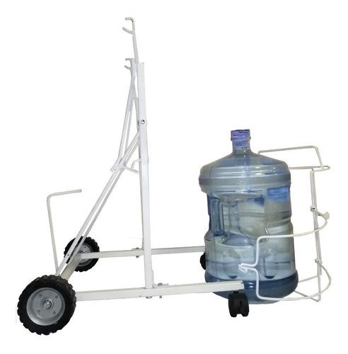 porta garrafón de agua con palanca agarrafón todo terreno