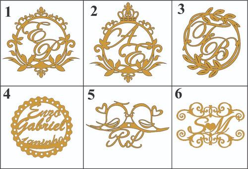 porta guardanapo anel mdf casamento vintage (100un.) brasão