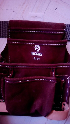 porta herramienta de cuero tulmex