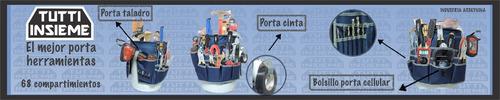 porta herramientas para tacho de 20 litros 68compartimientos