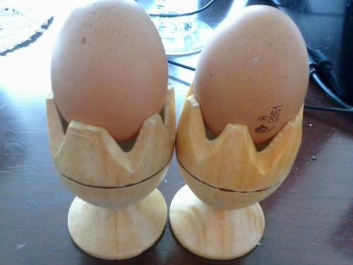 porta huevos y porta servilletas