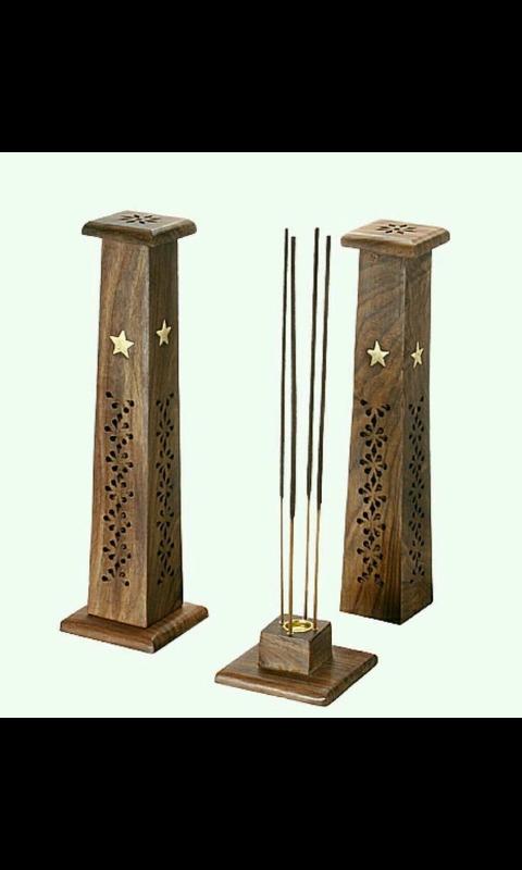 aca6ac2c8d0 Porta Inciensos Torre Vertical Madera - Bs. 28.000,00 en Mercado Libre