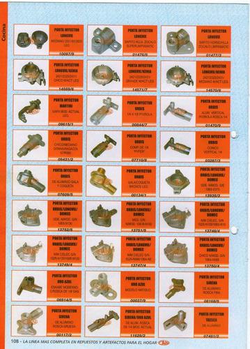 porta inyector long. kenia2421/2325/2431/med. art.14570/6