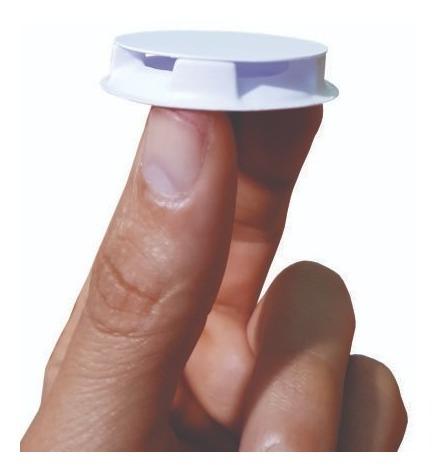 porta iscas para formigas e baratas (embalagem com 100 unid)