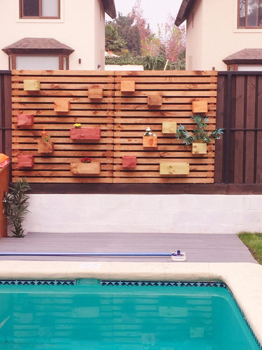 porta jardineras de madera colgante 70x33