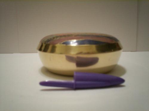porta jóia em metal indiano cloisonne - medio