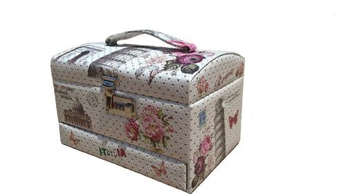 porta jóias estojo caixa maleta bijuterias relógio