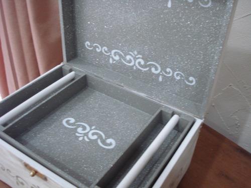 porta joias - patina