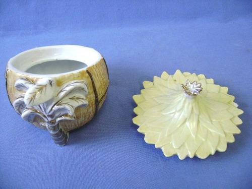 porta jóias vieira de castro - porcelana - pote