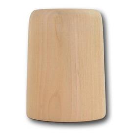 Porta Lamparas Madera Lenga Lustrados 8,5x5,5cm E27
