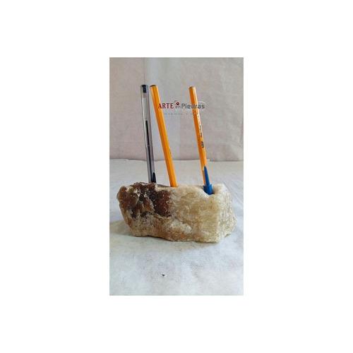 porta lápices de ónix