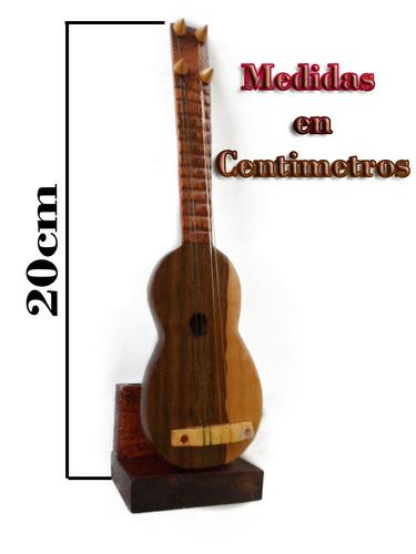 porta lápiz de cuatro venezolano de madera adorno artesanía