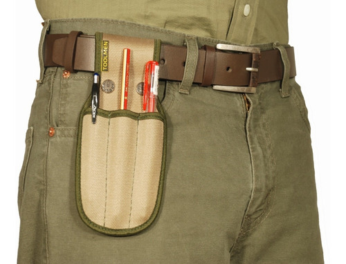 porta lapiz lapiceras cuter para cinturon toolmen t14 triple