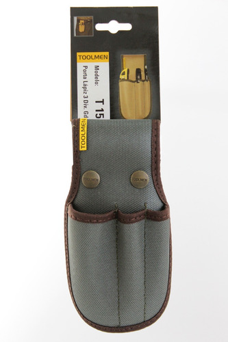 porta lapiz lapiceras cuter para cinturon toolmen t15 triple