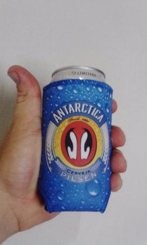 porta lata 269ml cerveja palito personalizado em neoprene