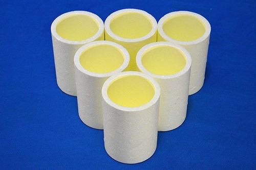 porta latas isopor cerveja 350ml - pct c/ 6 unidades