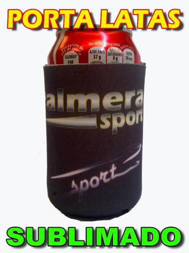 porta latas para publicidad! sublimacion! somos fabricantes!