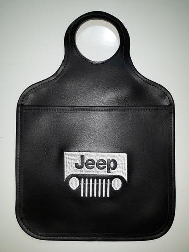 porta lixo lixeirinha lixeira lixinho para carro bordado car