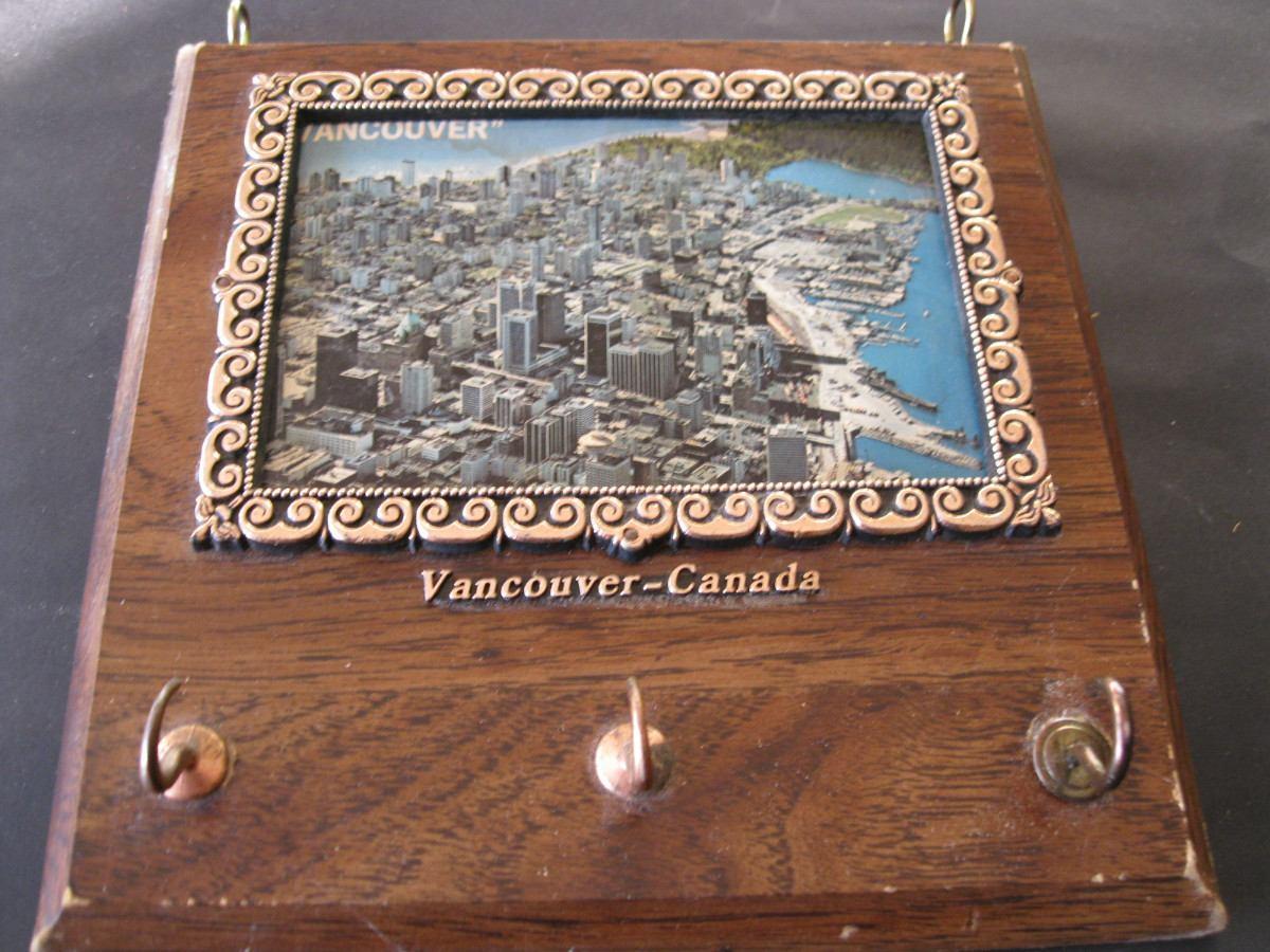 Porta llaves llavero de pared de colgar recuerdo de canada 300 00 en mercado libre - Porta llaves pared ...