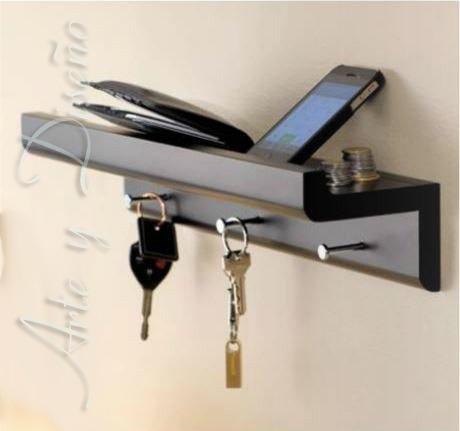 porta llaves minimalista (original)