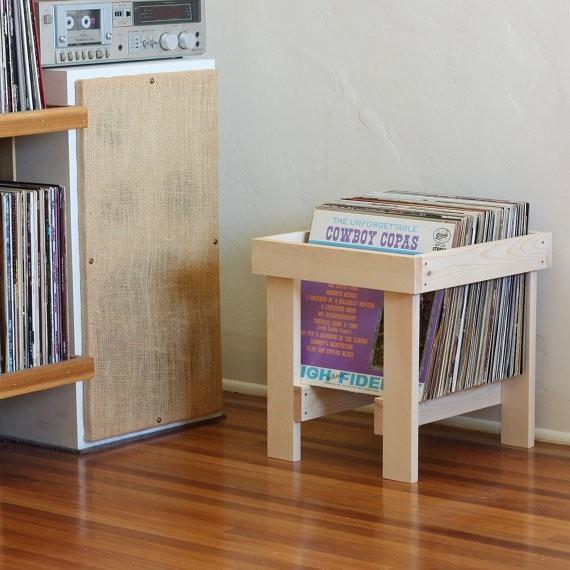 porta lp suporte apoio organizador disco vinil em madeira r 45 99 em mercado livre. Black Bedroom Furniture Sets. Home Design Ideas