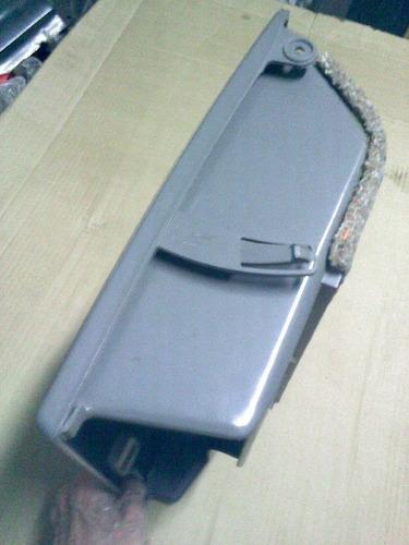 porta luva original vw santana quadrado 89 91 quantum cinza