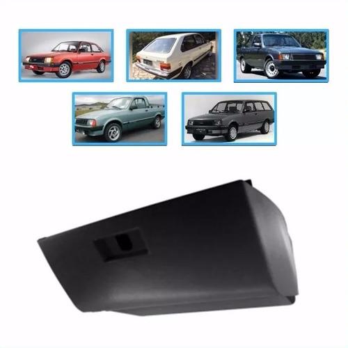 porta luvas tampa e caixa chevette sedan / hatch 83/93 preto