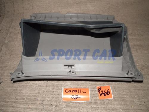 porta luvas toyota corolla 2000 cinza #266 - sport car