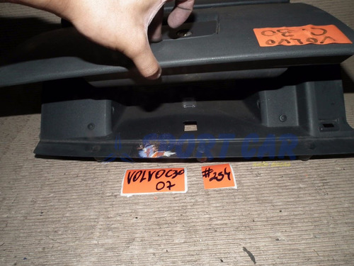 porta luvas volvo c30 2007 cinza #254 - sport car