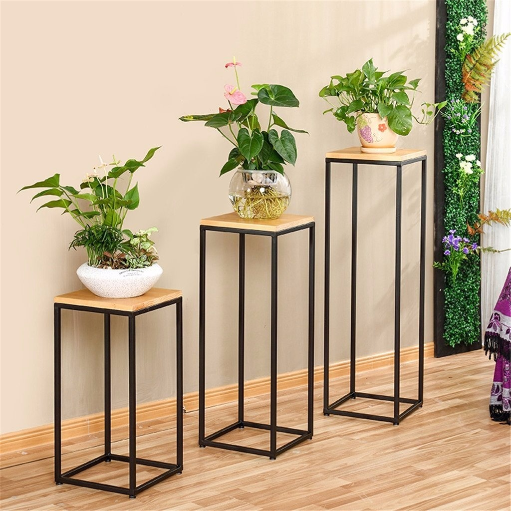 Maceteros madera exterior stunning estante de madera for Maceteros de madera para interior