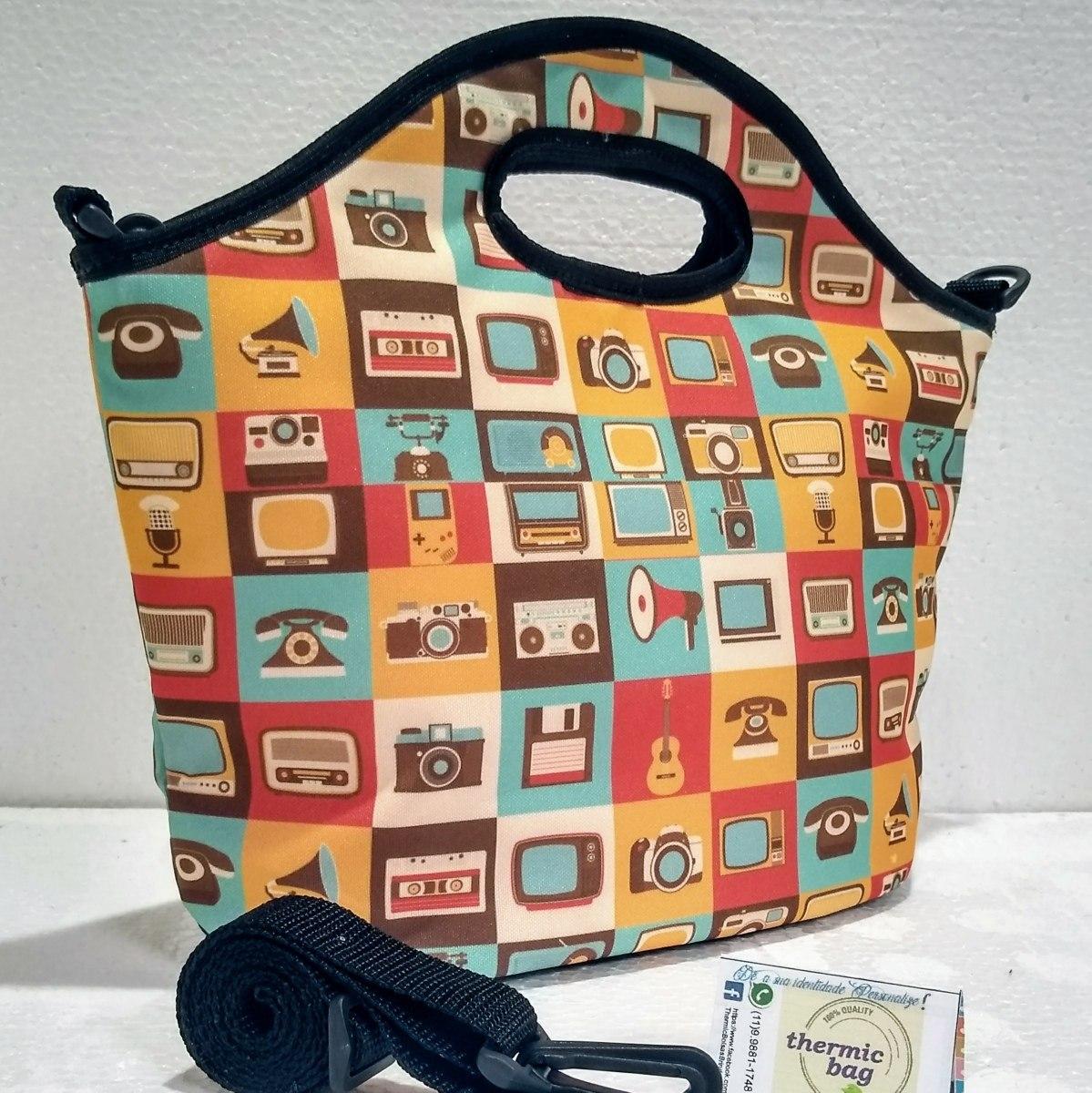 1ef05137a porta marmita bolsa térmica lancheira escolar top barato. Carregando zoom.