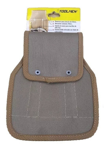 porta martillo maza barreta para cinturon toolmen t38