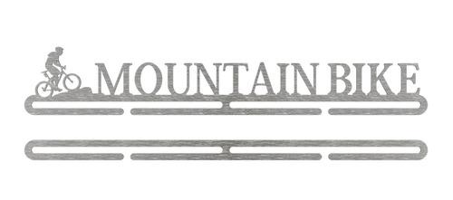 porta medalhas de mountain bike - inox escovado