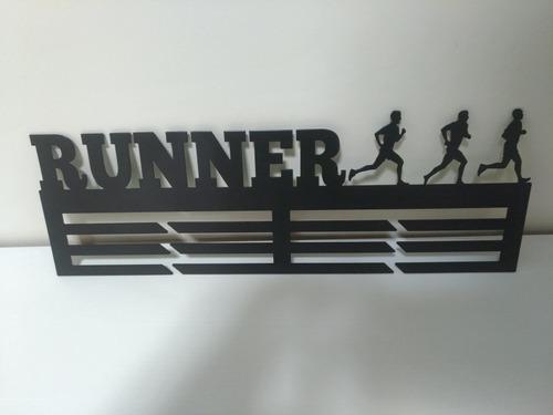 porta medalhas runner