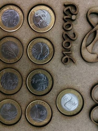 porta moedas das olimpíadas rio 2016