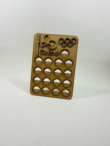 porta moedas das olimpíadas rio 2016+ brinde