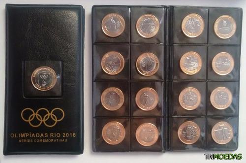 porta moedas das olimpíadas rio 2016 com adesivos