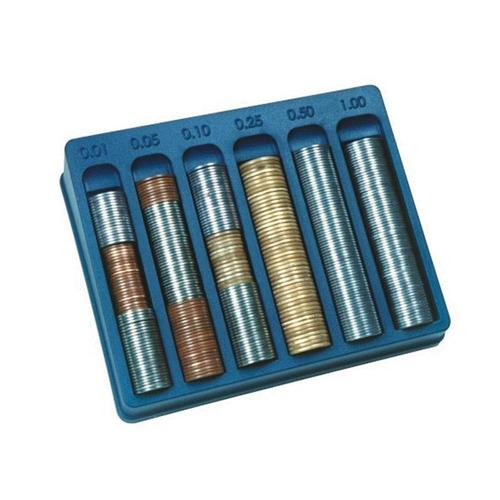 porta moedas preto caixa com 8 unidades menno